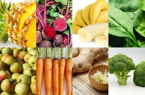 Healthy juices - 8 detox juice recipe ideas   Alive Juices   Scoop.it