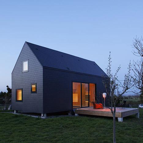 Inspiration lode architecture maison g en n for Construire avec un architecte