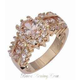 Cincin Fashion Champagne Topaz Cz | Womans Fashion, LifeStyle and Beauty | Scoop.it