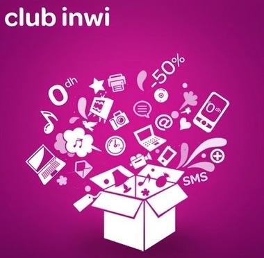 Config Mobile 3G: طريقة التسجيل في كلوب إنوي للحصول على هدايا من Club INWI | Config Mobile 3G | Scoop.it