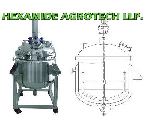 Chemical Reactors and Storage Tank Manufacturer | Chemical Plant and Machinery in India | Chemical Process Reactor for Chemical Reaction – Hexamide Agrotech LLP | SS 316 ,304 CHEMICAL REACTOR MFG INDIA | Scoop.it