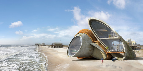 Artist Designs Surreal Futuristic Forts That Can Withstand Natural Disaster - Huffington Post | Tech The Future | Scoop.it