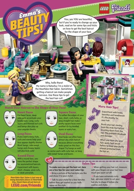 Why Is LEGO Offering Beauty Tips To Little Girls? | Psychology of Consumer Behaviour | Scoop.it
