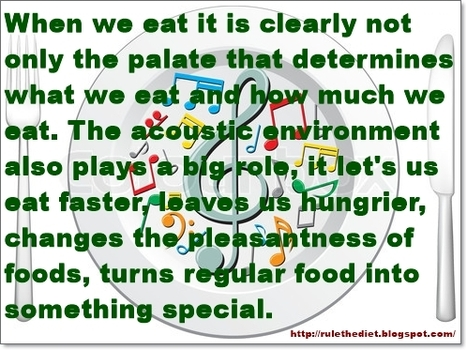 Do you want your food to taste better ? Put on the right music | healthy diet for a healthy lifestyle | Scoop.it