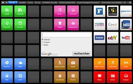 Le bureau Symbaloo, outil pédagogique | E-apprentissage | Scoop.it