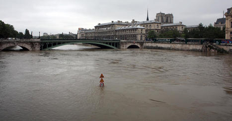 Before and after photos of flooding in Paris | Sustainability Science | Scoop.it