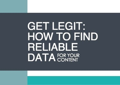 Get Legit: How to Find Reliable Data for your Content | TALC Infographics | Scoop.it