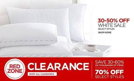 WHITE SALE at JCP | Mobile Application | Scoop.it