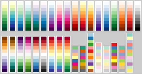 Every ColorBrewer Scale | Life in Color | Color in Life | Scoop.it