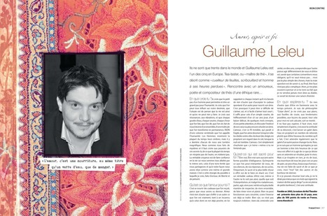 "Guillaume LELEU répond sur Happinez France ""Amour, espoir, foi"" 