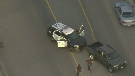 High-speed chase ends after female suspect attempts to jump in police cruiser | Police Problems and Policy | Scoop.it