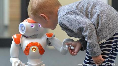 Robots teach Germany's refugees a foreign language | Sci-Tech | DW.COM | 02.04.2016 | German learning resources and ideas | Scoop.it