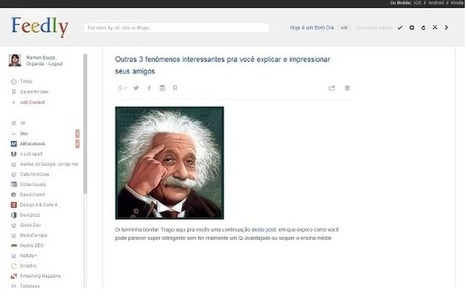 Make Feedly Look Like Google Reader With This Chrome Extension | InformationFluencyTransliteracyResearchTools | Scoop.it