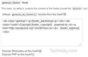 Customizing Genesis Theme Footer Link Made Easy | Web Design & Development | SEO, PHP, Wordpress & CMS Tutorials | Scoop.it