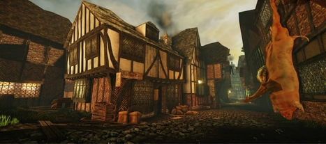 Prize-Winning Animation Lets You Fly Through 17th Century London   British life and culture   Scoop.it