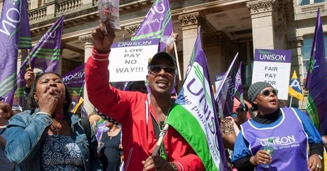 UK Workers Stage Mass Protests Against Austerity Measures | News in english | Scoop.it