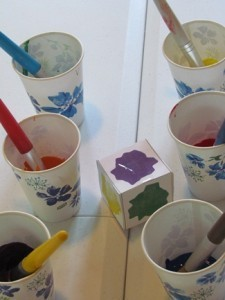 The color of birds and painting with color cubes | Teach Preschool | Scoop.it