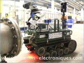 Un robot pour détecter les fuites de gaz   Des robots et des drones   Scoop.it