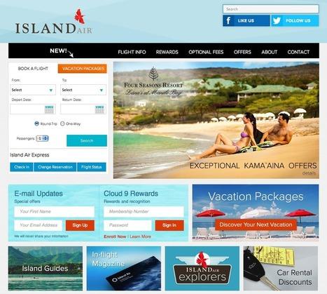 Island Air dévoile sa nouvelle identité visuelle | tendancesAtester | Scoop.it