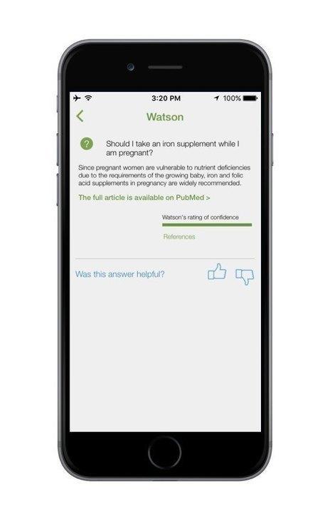 IBM, Nutrino Unveils Watson-Powered Nutrition App | Healthtrends | Scoop.it