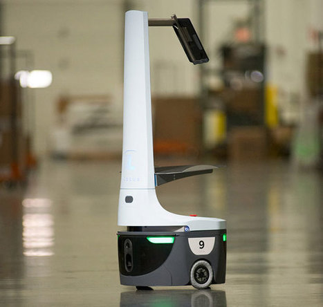 How Locus Robotics Plans to Build a Successor to Amazon's Kiva Robots | Robotic applications | Scoop.it
