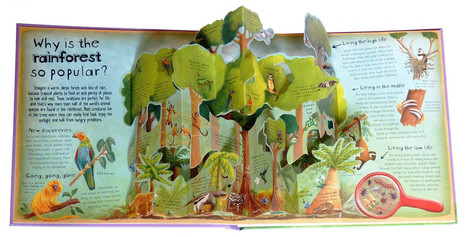 Pop-Up Books Make Environmental Science Easy-Peasy For Kids | Making Tinkering | Scoop.it