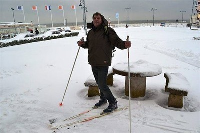 Tous les moyens sont bons pour aller travailler ! , Villers-sur-Mer 13/03/2013 - ouest-france.fr | Office de Tourisme et d'Animation de Villers-sur-Mer | Scoop.it
