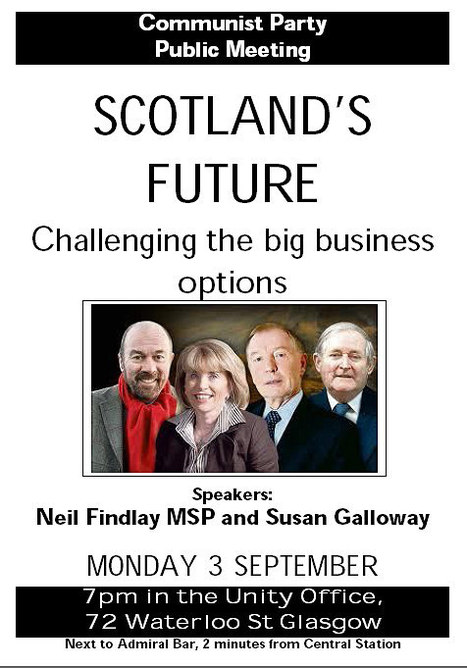 SCOTLAND'S FUTURE - Challenging the big business options | Scottish Independence and a better future! | Scoop.it