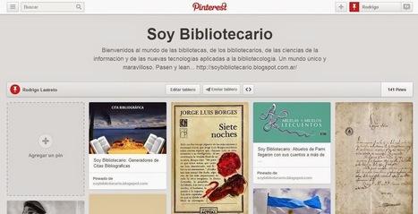 Cómo usar Pinterest dentro de la biblioteca | Las Tics y las ciencias de la informacion | Scoop.it