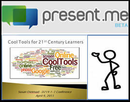Present.Me ~ Cool Tools for 21st Century Learners | Digital Presentations in Education | Scoop.it