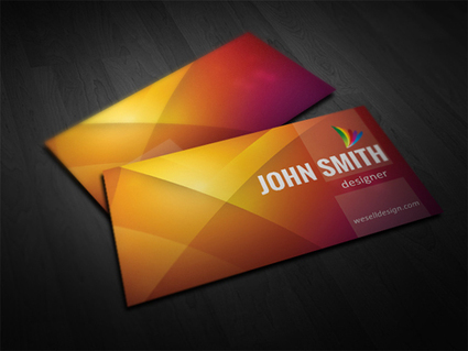 125 + FREE Business Cards PSD for PhotoShop Review | Daily Design Notes | Scoop.it
