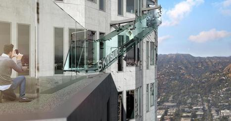 Skyslide attached to side of LA's U.S. Bank Tower nearly 1,000 feet above ground | CLOVER ENTERPRISES ''THE ENTERTAINMENT OF CHOICE'' | Scoop.it