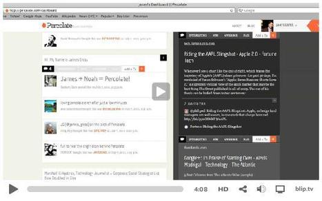 See New Curation Platform Percolate In Action | Video | Futurism, Ideas, Leadership in Business | Scoop.it