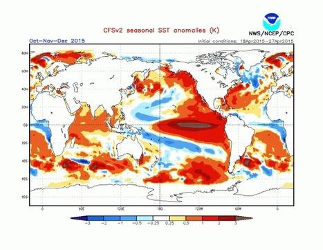 Climate Change Ratcheting Up: El Nino Strengthens in Equatorial Pacific Increasing Likelihood for Record Warm 2015 | GarryRogers Biosphere News | Scoop.it