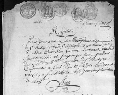 Archives d'Indre et Loire Numérisation et mise en ligne des fonds : les travaux se poursuivent en 2013 | Ta famille ou la mienne ? | Scoop.it