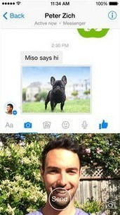 Facebook Messenger Is Looking More and More like Snapchat | Advancements in Social Media | Scoop.it