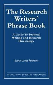 Download The Research Writer's Phrase Book: A Guide to Proposal ...   Geography   Scoop.it