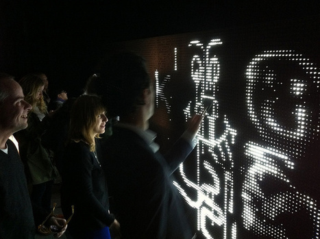 Water-Activated LED Wall: Sounds Dangerous, Looks Beautiful : Gizmo Tech News – Gadget & Technology news, Gadget reviews, guides | Technology news | Scoop.it