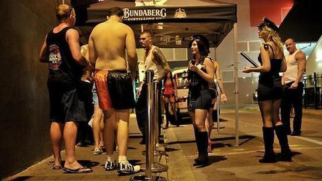 No pants please at Darwin's Hookers Ball - Australia's wildest party | Escorts | Scoop.it