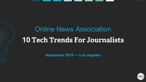 Journalisme web : 10 tendances pour 2016 | Médias (web, mais pas que...) | Scoop.it