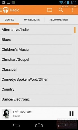 Google Play Music update brings in Genre Radio to All Access ... | Google Music | Scoop.it