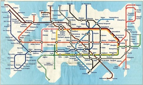Global Tube Map | Colossal | It's All Social | Scoop.it