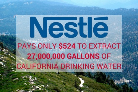 Federal #Court Denies Request to Turn Off #Nestlé Spigot Despite Decades of Water-Taking #California | Messenger for mother Earth | Scoop.it