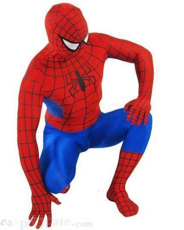 Classic Red And Blue Spiderman Lycra Spandex Super hero B free shipping - wholesale Lycra Spandex Zentai Suits - wholesale Catsuits & Zentai - CosplayGate.Com | spiderman suit,spiderman costumes wholesale | Scoop.it
