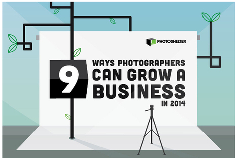 Infographic Gives You Nine Ways to Grow Your Photography Business in 2014 | DSLR video and Photography | Scoop.it