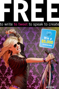 Free toTweet your way to $5000 scholarship | Innovations in e-Learning | Scoop.it