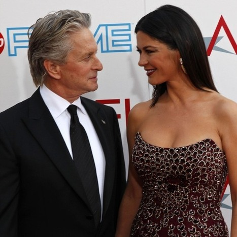 Proof That Michael Douglas and Catherine Zeta-Jones Are Back Together! | Celebrity News And Gossips | Scoop.it