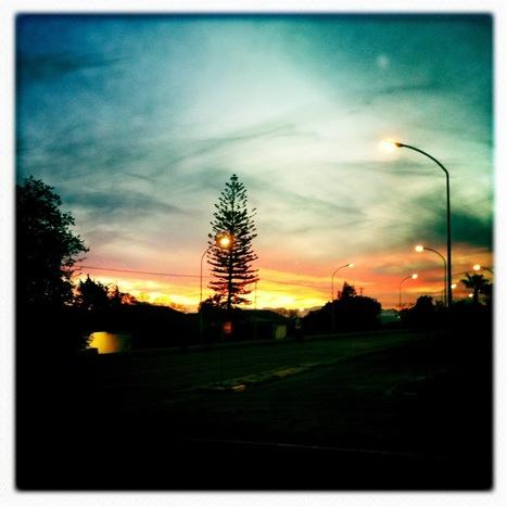 Main Road sunset | Hipsta | Scoop.it