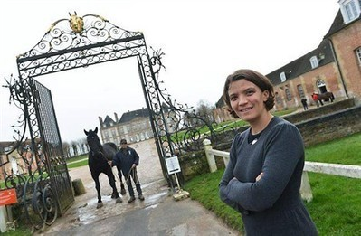 Elle tient les rênes du plus grand haras de France - ouest-france.fr | Sports | Scoop.it