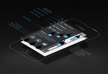 UI/UX design d'application iPhone pour ERDF DSI   NOE interactive   NOE interactive   Scoop.it